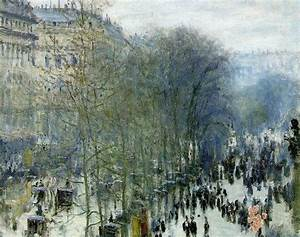Sedef's Corner: Claude Monet - Boulevard des Capucines, Paris