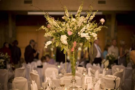 ideas for a wedding reception without centerpieces without flowers ideas in your wedding