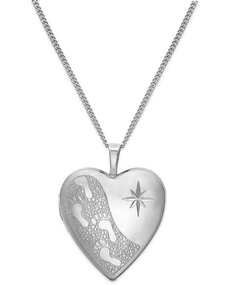Macy's Footprints In The Sand Engraved Heart Locket. 18k Watches. Custom Engagement Rings. Medical Id Bracelet. Troll Beads. Tungsten Engagement Rings. Heart Chains. Baguette Diamond Wedding Band. Tiny Gold Necklace