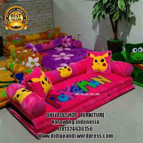 Sofa Bed Karakter Batam jual sofa bed inoac karakter tanpa meja di lapak