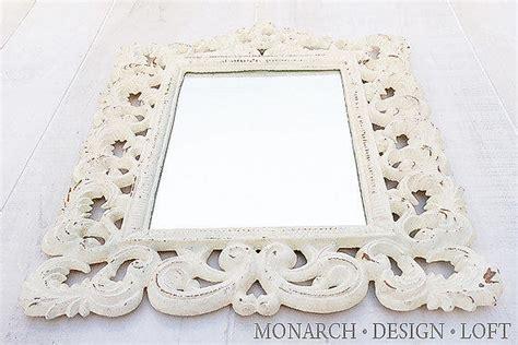 Ornate Wall Mirror Rod Iron Rusty Shabby From