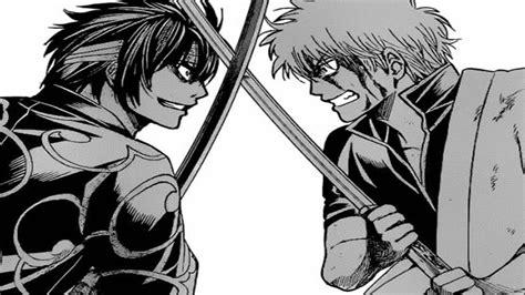 gintama manga chapter  reaction gintoki