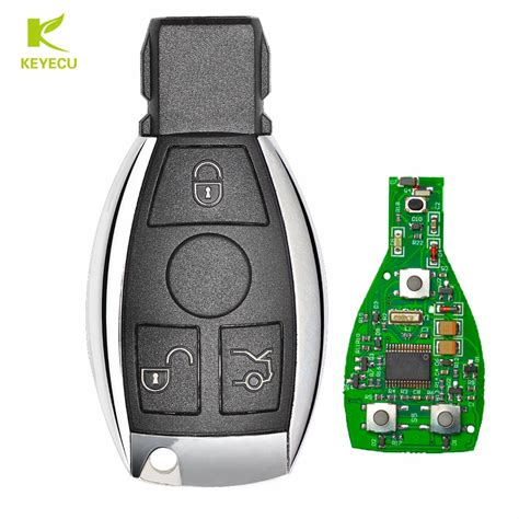 Mercedes benz w212 e200 year 2012 add new smart key when all smart keys lost by autel im608 (no need to take. KEYECU Replacement Keyless Entry Smart 3 Button Remote key With Infrared for Mercedes Benz 315 ...