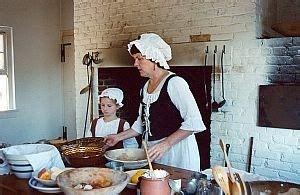 colonial america  kids food  cooking