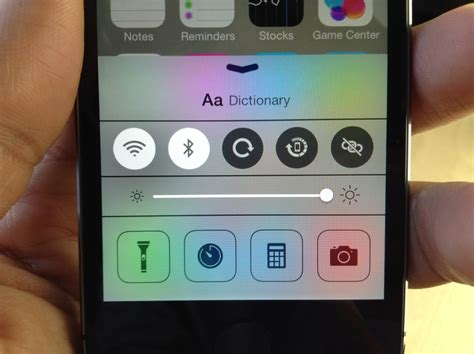 How To Look Up Dictionary Definitions Via Control Center