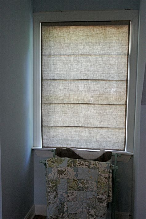 Little And Lovely Diy Roman Shades