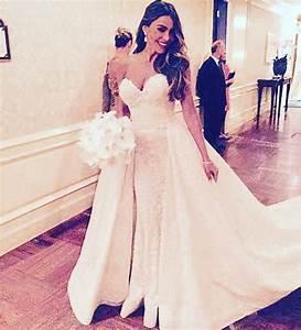 sofia vergara wedding dress by zuhair murad the dress by With sofia vergara wedding dress