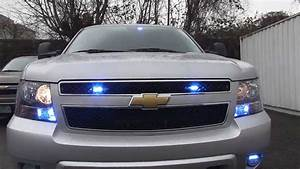 Chevy Suburban Police Vehicle With Whelen Ion Lighting