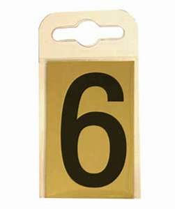 50mm self adhesive numbers or letters black on gold for Self adhesive house numbers and letters