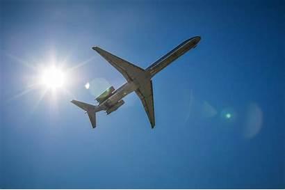 Sky Jet Airplane Sun Lithium Aluminum Domain