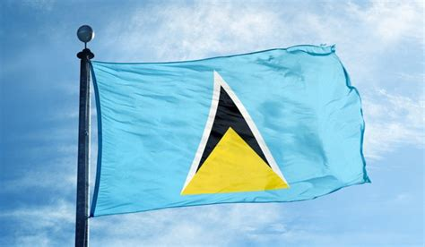 what do the colors of the flag represent what do the colors and symbols of the flag of lucia