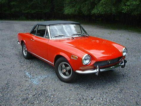 1970 Fiat 124 Spider by 1970 Fiat 124 Spider A Great Car To Restore If I Can