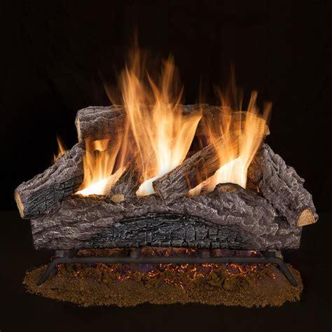 emberglow oakwood   vent  natural gas fireplace