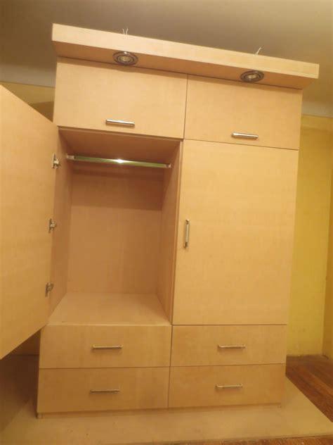 como hacer  ropero  closet facil en mdf