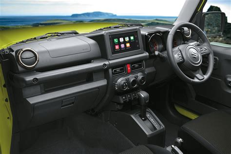 Suzuki Jimny 2019 Interior by 2019 Suzuki Jimny Launch Review Car Review Central