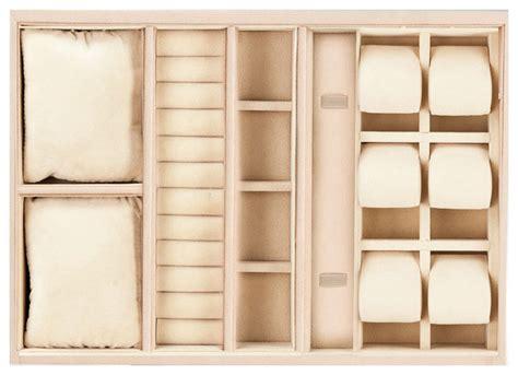 custom jewelry drawer inserts and organizers modern