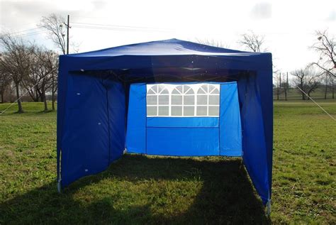 easy pop tent canopy sidewalls colors