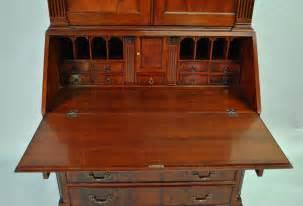 mahogany antique styling colonial secretary desk ebay