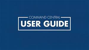 Command Central - User Guide