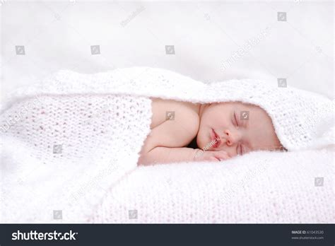 Baby Sleeping Blanket Stock Photo 61043530 Knit Patterns For Blankets Shock Blanket Sherlock Machine Washable Electric Bernat Baby Big Ball Yarn What Is A Fire Made Out Of Emergency Rescue Personalized Photo Fleece Double Crochet Beginners