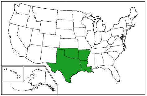 Arkansas West Gulf Coastal Plain Map