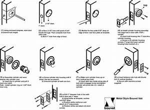 Deadbolt Installation Instructions