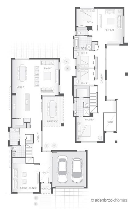 plan cuisine 9m2 awesome storey home design the kirra by adenbrook
