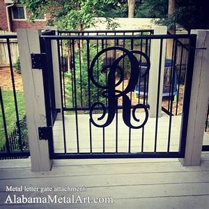 Metal gates iron fence gate carch ornamental iron gates for Metal letters for gates