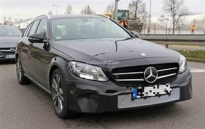 Class C : 2018 mercedes benz c class facelift shows interior for the first time autoevolution ~ Gottalentnigeria.com Avis de Voitures
