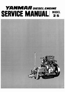 Yanmar 2s Marine Diesel Engine Service Repair Manual