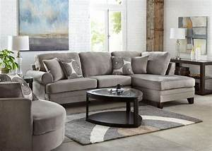 zoey 2 pc laf sectional grey sectionals living room With zoey sectional sofa