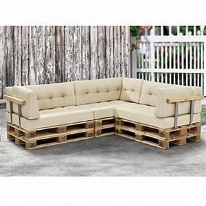 Paletten Couch Kissen : modernes paletten sofa komplett mit kissen und lehne ~ Orissabook.com Haus und Dekorationen