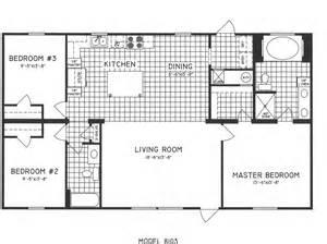 3 bedroom 2 bath floor plans 3 bedroom floor plan c 8103 hawks homes manufactured