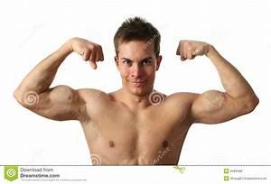 Flexing Biceps Royalty Free Stock Photos - Image: 8483468
