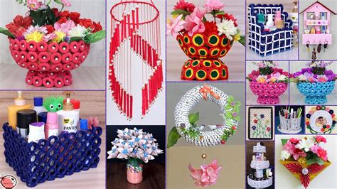 news paper craft idea diy room decor  diy
