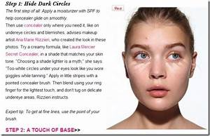 correct steps to apply makeup