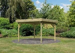 Pavillon Holz Flachdach : karibu holzpavillon 4 eck flachdach pavillon 2 kdi ~ Orissabook.com Haus und Dekorationen
