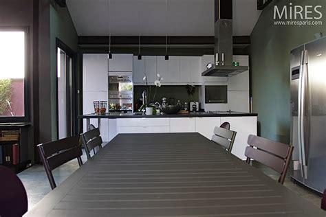 cuisine ouverte sur séjour c0290 mires