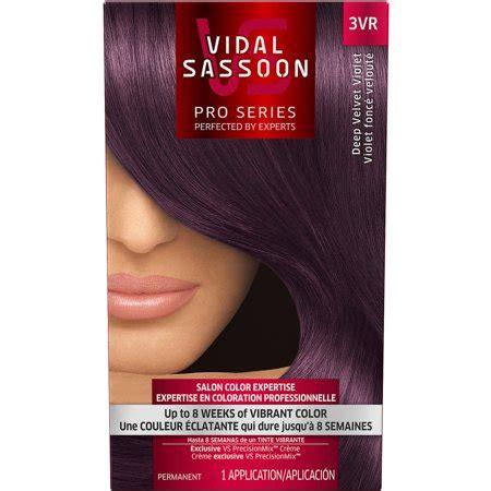 vidal sassoon pro series hair color choose  color