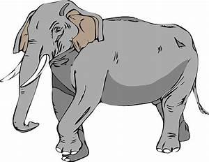 ANIMALS, LARGE, CARTOON, BIG, MAMMALS, ELEPHANT, MAMMAL ...