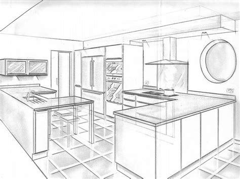 perspective cuisine 1000 images about dessiner une cuisine en perspective on