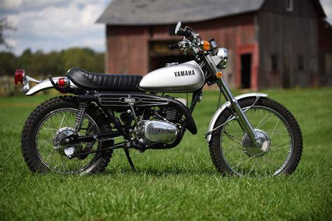 yamaha motocross bikes for sale 1972 yamaha rt2 360 enduro immaculately restored for sale