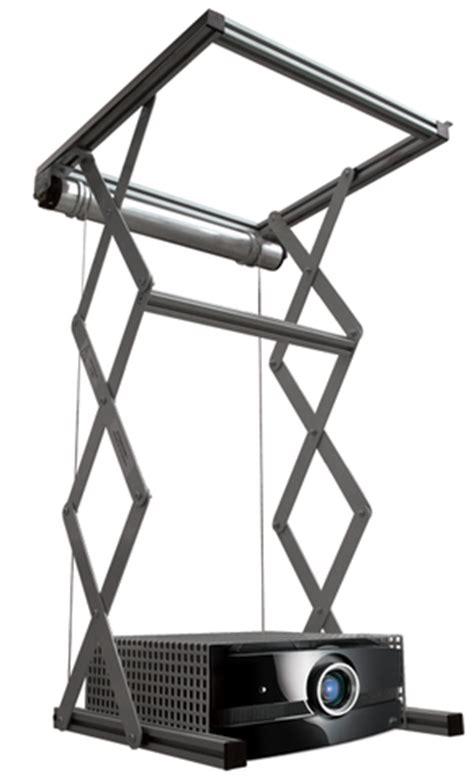 Staffa Soffitto Proiettore Staffa Motorizzata Per Proiettore A Soffitto 100 Cm