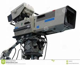 Tv Professional Studio Digital Video Camera Stock Photography