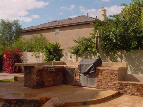 landscaping in az arizona landscaping grilling patio designs for bbq s