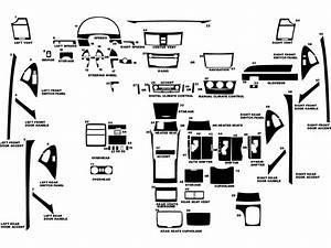 2007 Toyota Camry Interior Parts Diagram