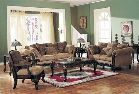 chenille fabric classic living room sofa w options
