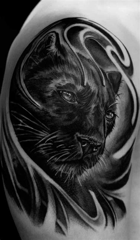 Pin by Subject9098 on Cosplay/Roleplay Inspo | Black panther tattoo, Jaguar tattoo, Black tattoos