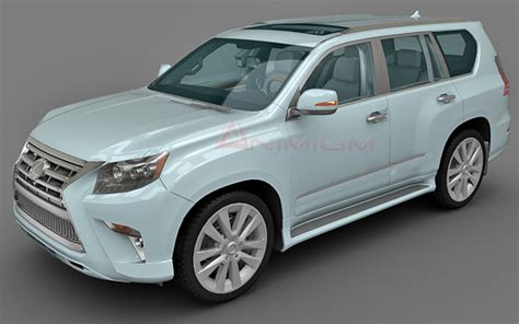 lexus suv models images lexus gx460 3d model free 3d models