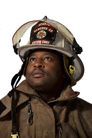 Firefighter Portraits as Local Heroes by Ian Spanier ...